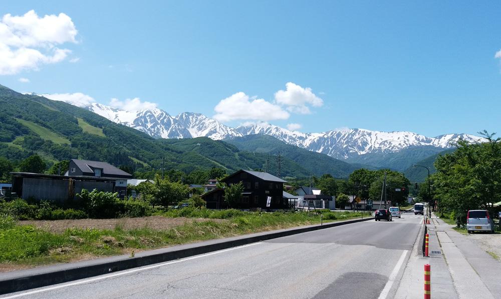白馬岳2017 6月
