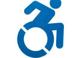 車いすマーク wheelchair symbol